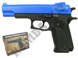 HA107 BB Gun Colt 1911 Replica Airsoft Spring Pistol 2 Tone Colours